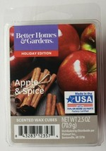 Better Homes & Gardens Holiday Edition Apple & Spice Wax Cubes 2.5 oz - $5.93