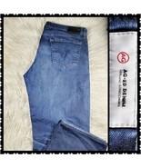 Adriano Goldschmied 38R Mens the graduate Medium wash Denim Casual Blue - $34.54