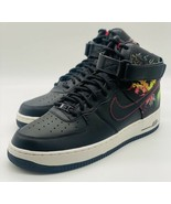 NEW Nike Air Force 1 High '07 LV8 Black Floral Red CI2304-001 Men's Size... - $148.49