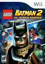 LEGO Batman 2 Wii  Complete CIB - $8.53
