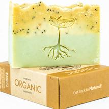 Turmeric Natural Handmade Soap, Vegan Homemade Soap Bar, Cold process 4.7oz - $7.99