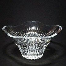 1 (One) MIKASA MERIDIAN Stunning Cut Lead Crystal Square Bowl DISCONTINUED - $42.99