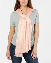 INC International Concepts Gemstone Pashmina Wrap Shawl Hijab, Peach - $15.84