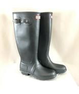 Hunter Womens Rain Boots Original Tall Nebula Rubber Gray Size 9 - $96.74