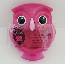 Retired Pink Owl Scentportable Bath Body Works Car Visor Clip No Disc Wi... - $11.95