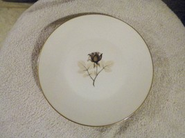 Rosenthal Shadow Rose salad plate 13 available - $3.42