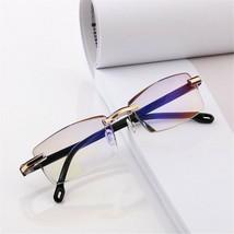 Reading Glasses Rimless Blue Light Blocking Women Men Computer Glasses - $7.51