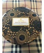 Voluspa Baltic Amber 3 Wick Large Candle - 12 OZ - Amber Resin, Sandlewo... - $28.15