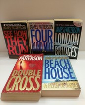 Lot of 5 James Patterson PB Books - See How They Run, London Bridges, Be... - $9.90