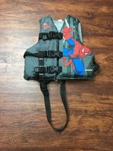 STEARNS 3 Front Buckles SPIDERMAN Life Jacket Water Safety Child Size 30... - $17.30