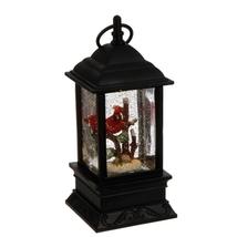 Lighted Cardinal lantern Water Globe - $49.98