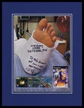 Superman Shadow of Apokolips 2002 PS2 Framed 11x14 ORIGINAL Advertisement - $34.64