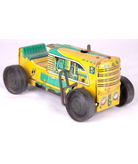 MAR TOYS/ Marx 5 Climbing Wind-Up Tractor-Yellow Green-UNIQUE/VINTAGE/RARE - $46.74