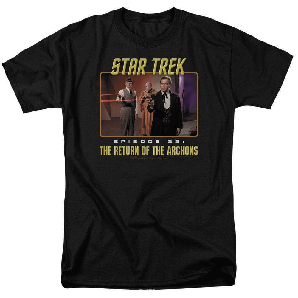 Star Trek T-shirt Episode 22 Return of the Archons Sc1-Fi TV graphic tee CBS388