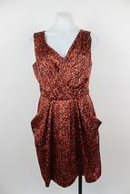 Cynthia Steffe Geometric Pleated Front Sleeveless Dress Size 8 - $12.00