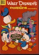 WALT DISNEY'S COMICS & STORIES #195 DONALD DUCK  BARKS VG - $14.55