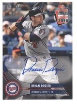 2018 Topps National Baseball Card Day Autographs #AU-BD Brian Dozier Twins NM-MT - $25.00