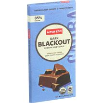 Alter Eco Americas Organic Chocolate Bar - Dark Blackout - 2.82 oz Bars - Case o - $51.99+
