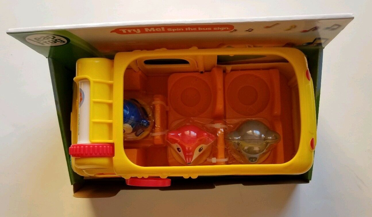NEW Leap Frog Learning Friends Adventure Bus Core Learning Skills with Figures image 7