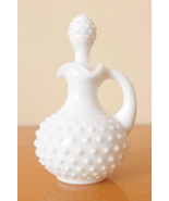 AVON DECANTER WHITE HOBNAIL MOONWIND FOAMING BATH OIL - $9.99