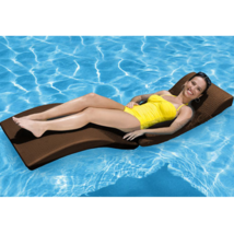 Pool Chaise Lounge Garden Patio Daybed Floating Folding Outdoor Lounger ... - $168.29