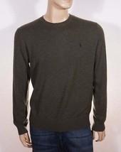 Polo Ralph Lauren Mens Green Italian Cashmere Crew Neck Pull Over Sweater $325 - $82.49