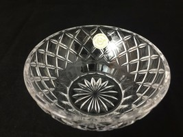 Lenox lead crystal diamond cut 5 inch diameter candy dish bowl - $21.59