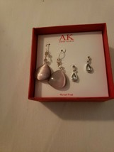 2 Pair Anne Klien Nickel Free Earrings - $9.89