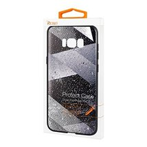 Reiko Samsung Galaxy S8 Edge Design TPU Case with Shades of Oblique Stri... - $21.39