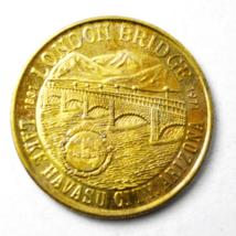 London Bridge 1971 Lake Havasu Dollar City Arizona 40mm Medal Rotary Club - $15.83