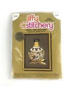 Sunset Jiffy Stitchery Vintage Southwest Crewel Kit Indian Vase W/ Bird ... - $14.54