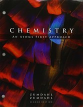 Bundle: Chemistry: An Atoms First Approach, Loose-leaf Version, 2nd + OW... - $186.61