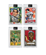4 Card Bundle Topps PROJECT 2020 Cards 97 98 99 100 Robinson McGuire Tro... - $133.64