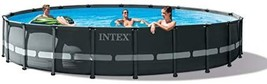 Intex 26333EH Ultra XTR Set Above Ground Pool, 20ft X 48in, Gray - $2,362.00