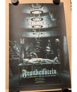 Frankenstein by Jonathan Burton 24x36 MONDO Poster Print 14/325 Boris Ka... - $142.45