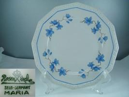 Rosenthal Maria 3473 Blue Floral Dinner Plate - $23.75