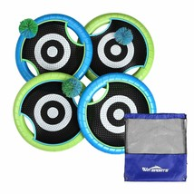 Win SPORTS Outdoor Trampoline Paddle Ball Set for 4 Players - Includes 4 - $46.74