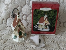Hallmark Keepsake Colonial Church Candlelight Services 1999 Ornament - $9.69