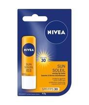 Nivea Sun Lip Balm Spf 30 - Sunflower Extract & Vitamin E 6 x 4.8g Canada  - $59.99