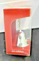 Vintage 1988 M. I. Hummel Silver Plated Christmas Bell Ltd Edition ARS In Box - $11.65