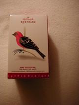 Hallmark 2016 Beauty of Birds - Pine Grosbeak Ornament! FREE PRIORITY SH... - $35.63