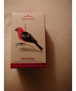 Hallmark 2016 Beauty of Birds - Pine Grosbeak Ornament! FREE PRIORITY SH... - $35.63