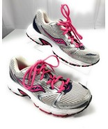 Saucony Oasis 2 Grid Silver Pink Running Shoes Women's 8US - $26.13
