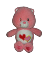Care Bears Love-a-Lot Bear Plush Toy Stuffed Animal Pink - $14.84