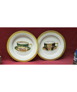 "Two (2) ROYAL GALLERY Porcelain China - GRAND BUFFET 8.5"" Accent Salad P... - $29.95"