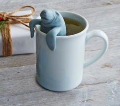 Manatea Tea Infuser Florida Manatee Loose Leaf Steeper Silicone New - €7,47 EUR