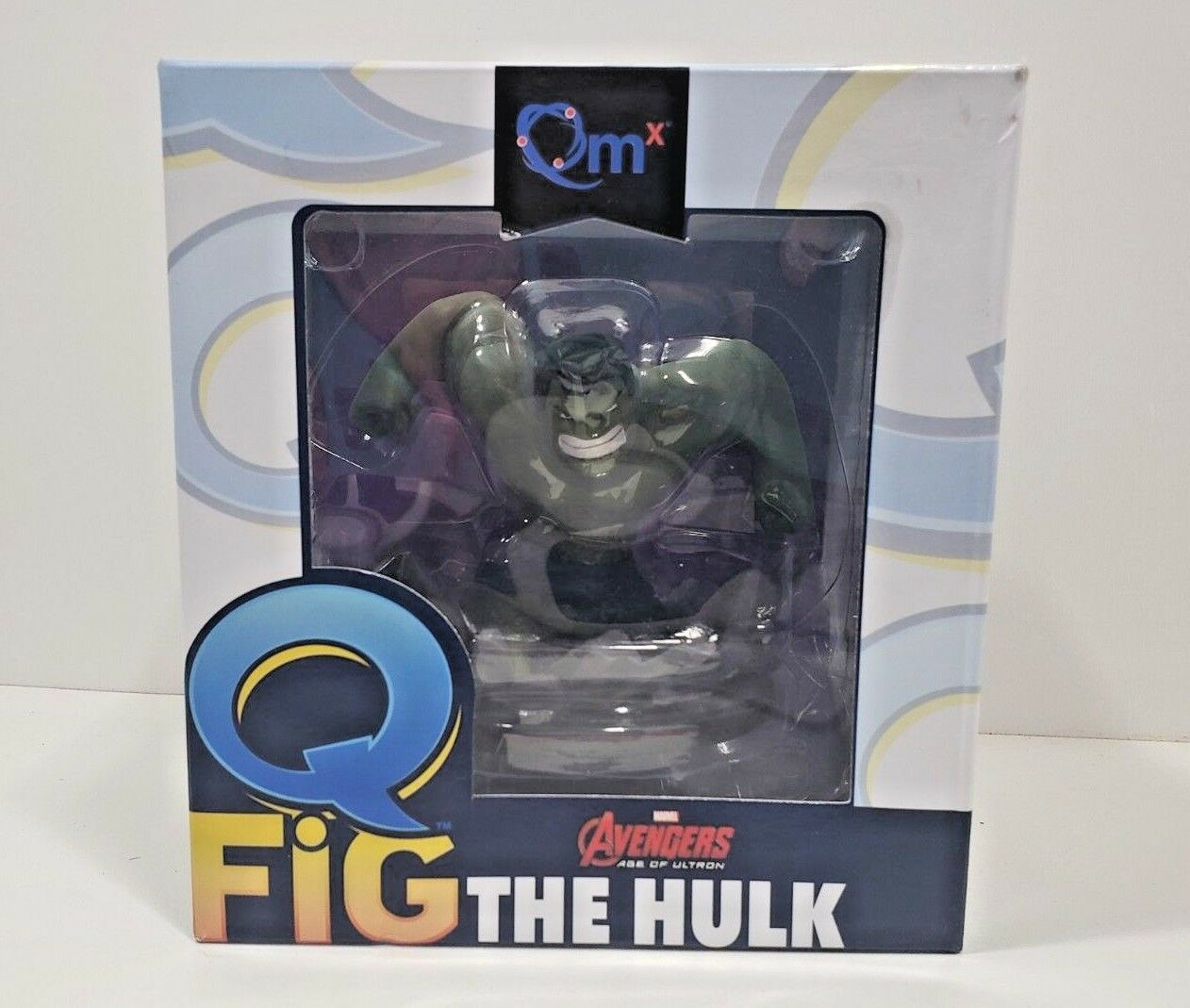 The Hulk QMX Q Fig, Marvel Avengers Age of Ultron, New Open box