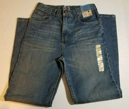NWT Route 66 Boys Husky Bootcut Jeans Size 12H Medium Wash Pants image 6