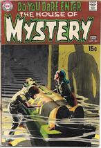 House of Mystery Comic Book #181 Adams/Wrightson Art DC Comics 1969 VERY GOOD+ - $20.24