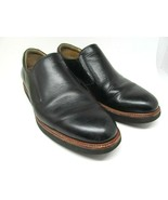Samuel Hubbard Mens Black Leather Loafers Size US 10.5 M Made In Portuga... - $66.93